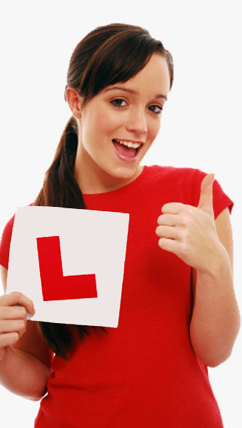 Pass with our female driving instructors